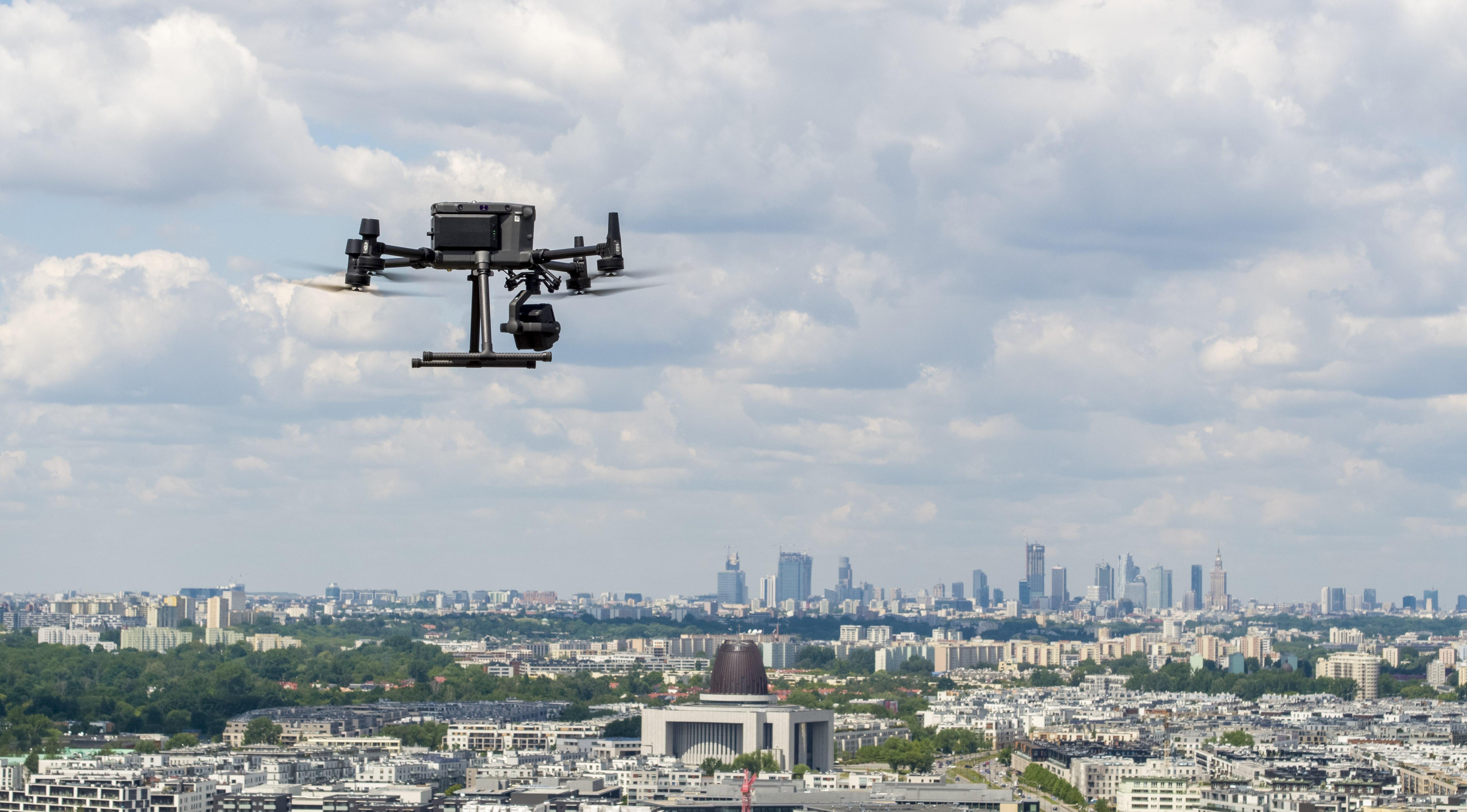 Test drona DJI Matrice 300 RTK